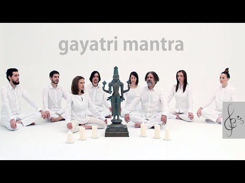 Gayatri Mantra | om bhur bhuva swaha | vedic mantra SOUND video & beautiful ambient music