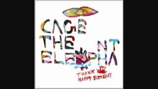 Cage the Elephant - Around My Head - Thank You, Happy Birthday - LYRICS (2011) HQ