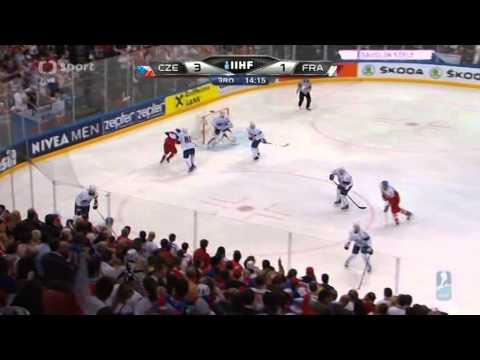 MS v hokeji 2015 Česko - Francie 5:1