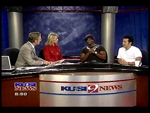 MC Hammer and Justin Lin on KUSI for SDAFF 2007