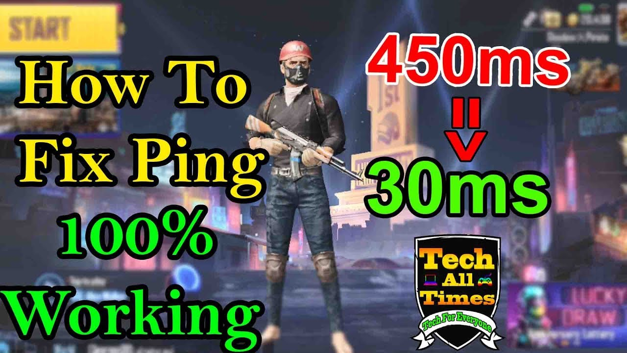 How To Fix Ping In Pubg Mobile Emulator   100% Working