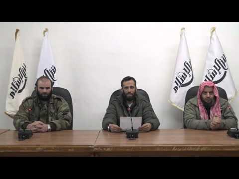 Jaysh al-Islam statement on death of Zahroun Alloush