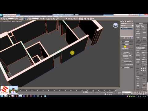 Cách xuất Autocad sang 3Dsmax để thiết kế nội thất | Autocad to 3Dsmax | 5AArchitects |  Full HD
