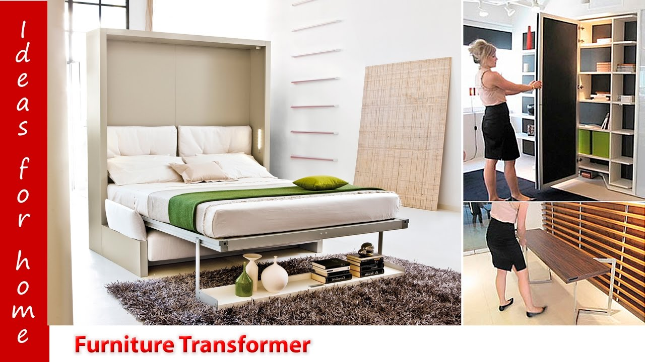 Furniture Transformers Ideas For Home Convertible Wall Beds Мебель трансформер Идеи для дома