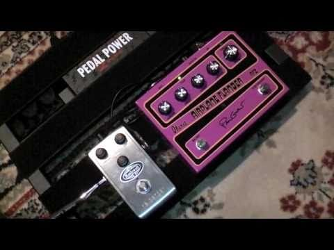 Ibanez AF-2 Paul Gilbert Airplane Flanger with Rothwell Hellbender Pedal Demo