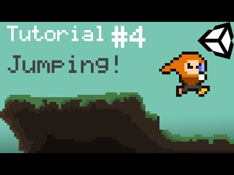 Unity 5 2D Platformer Tutorial – Part 4 – Jumping and Ground Check fixing.
