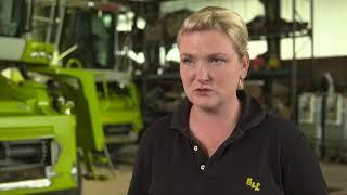 Agrarservice im Profil: Die junge Chefin