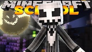 Minecraft School - VISITING HALLOWEEN TOWN #1