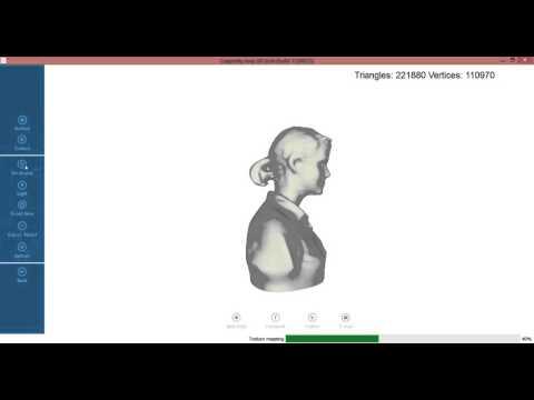 Cappasity Easy 3D Scan - R200 Head Scanning. Intel RealSense 3D Camera. Build 11/6/15