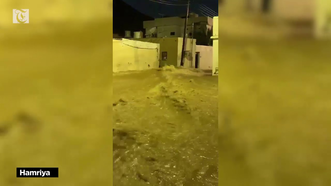 FlashFlood at #Hamriya, #Muscat, #Oman | Earth Changing Extremities