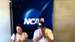 Southeastern Oklahoma State Softball Press Conference 5/10/13