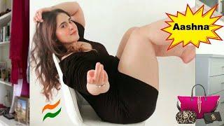 Aashna Bhagwani 👑 Indian young woman Biography , body measurements, age, relationships
