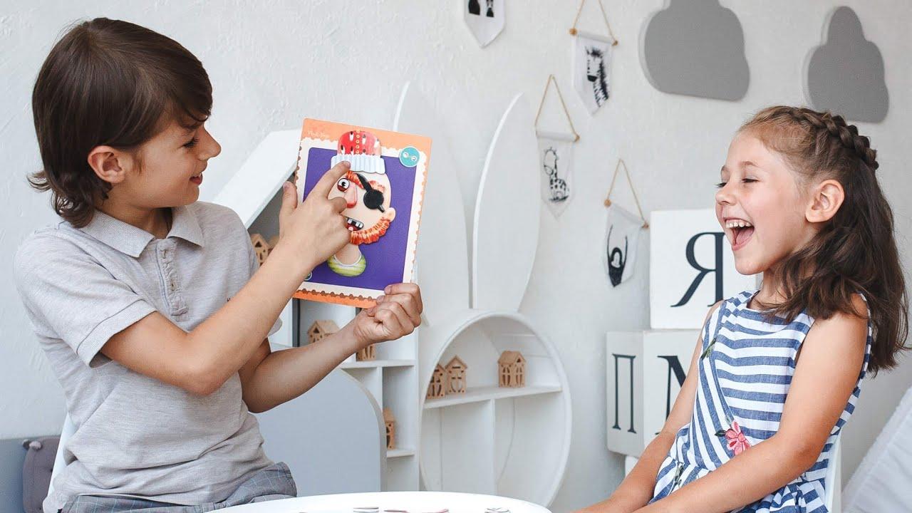Vladi Toys VT3702-09 Магнитная игра Фейсики