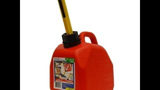 Converting 2009 EPA Gas Cans to easy pour units for only $3