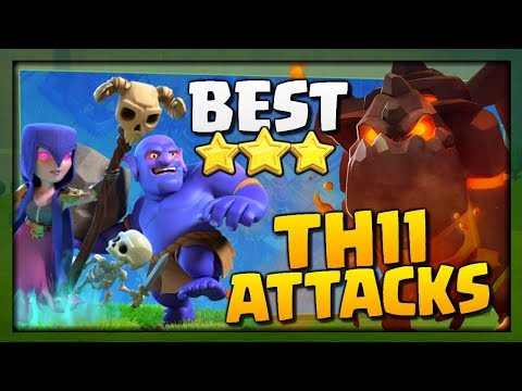 BEST TH11 ATTACKS - BoWitch & LavaLoon Attack Strategy for 3 Stars in Clash of Clans!