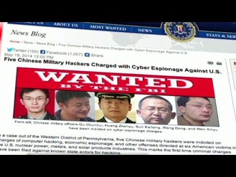 Chinese accused of hacking US trade secrets