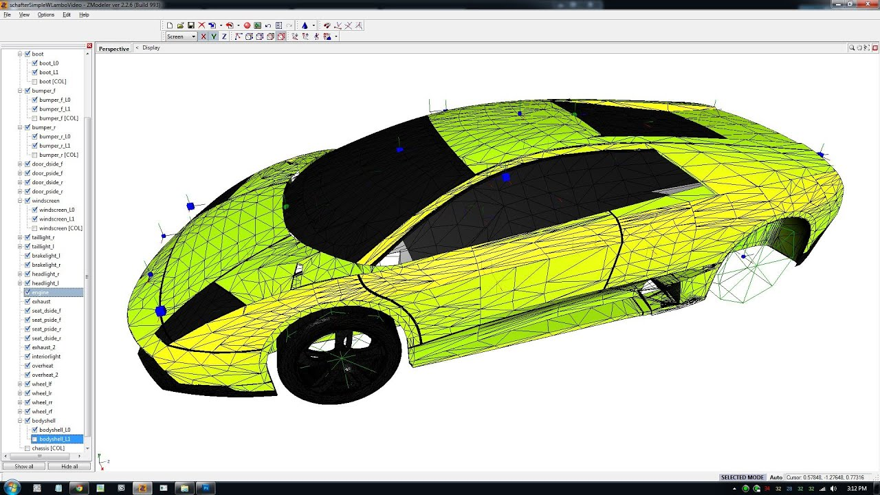 GTA 4 Car Mod Tutorial - 12 Exporting WFT model and WTD texture into Gta 4  with OpenIV