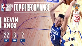 Kevin Knox Scores 22 Points In 2018 MGM Resorts Las Vegas Summer League!