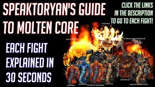 [ELYSIUM] MOLTEN CORE QUICK-GUIDE: 30 SECΟNDS PER BOSS + ANNOTATIONS FOR QUICK REFERENCE!