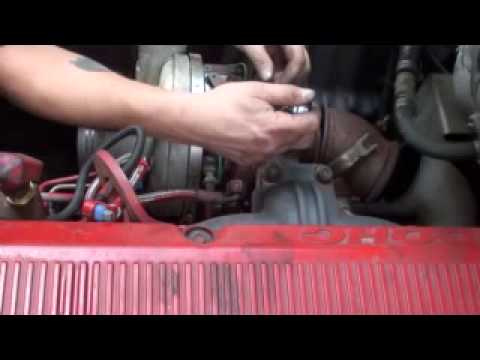 ISX Inspecting and Replacing your turbo and actuator by