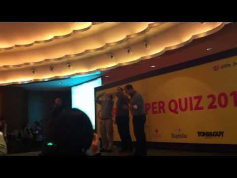 The Beijinger Super Quiz 2012 - chug-off to determine round winner