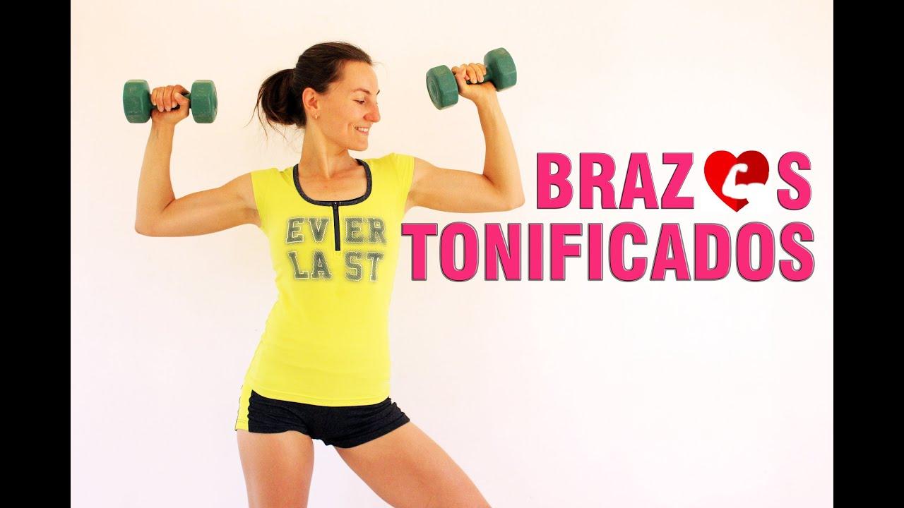 ejercicios con mancuernas para mujer principiante