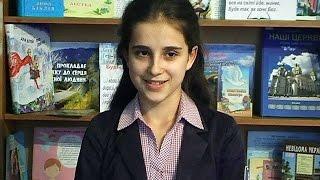 14-річна Ольга Івасюк з Коломийщини стала найкращою читачкою Прикарпаття(14-річна Ольга Івасюк з Коломийщини стала найкращою читачкою Прикарпаття. Дівчина перемогла у третьому..., 2015-11-12T08:19:50.000Z)
