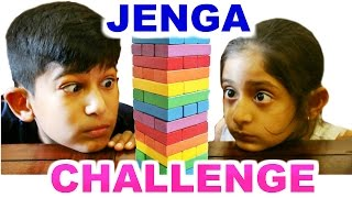 JENGA CHALLENGE (ft. Mogu Bhai) | Fun Family Games | MyMissAnand