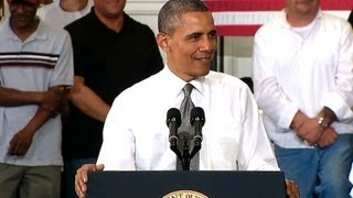 President Obama Speaks on Rebuilding Our Nation's Infrastructure
