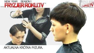 Aktualna krótka fyzura FryzjerRoku.tv
