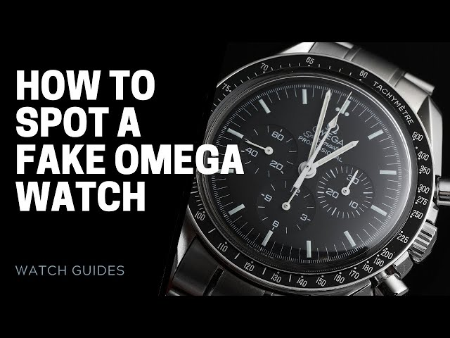 How to Spot a Fake Omega Watch | SwissWatchExpo [Watch 101]
