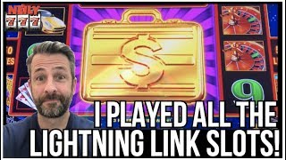 I PLAYED EVERY LIGHTNING LINK SLOT AT THE COSMO IN VEGAS!