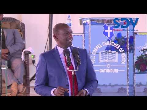 DP William Ruto warns that
