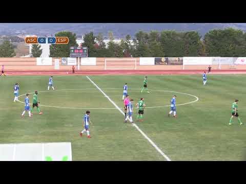 El partit: F.C. Ascó - R.C.D. Espanyol B