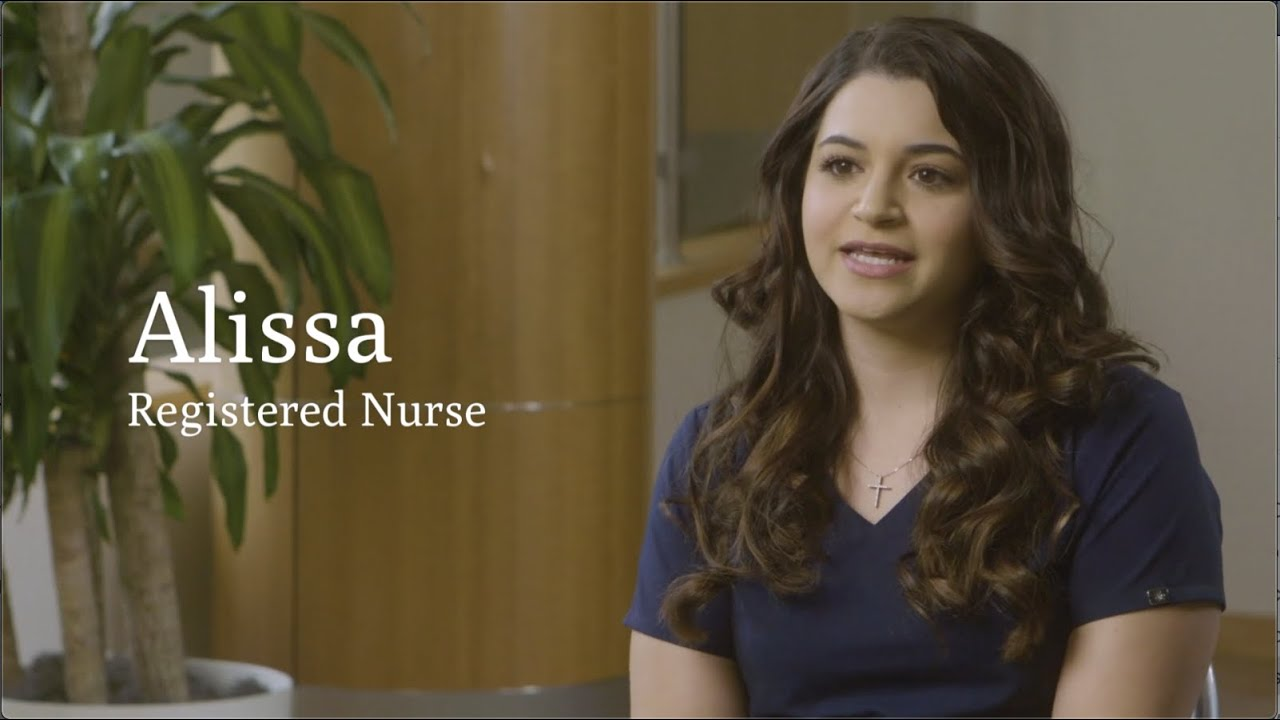 Why I Love Being a Nurse—Alissa's Story