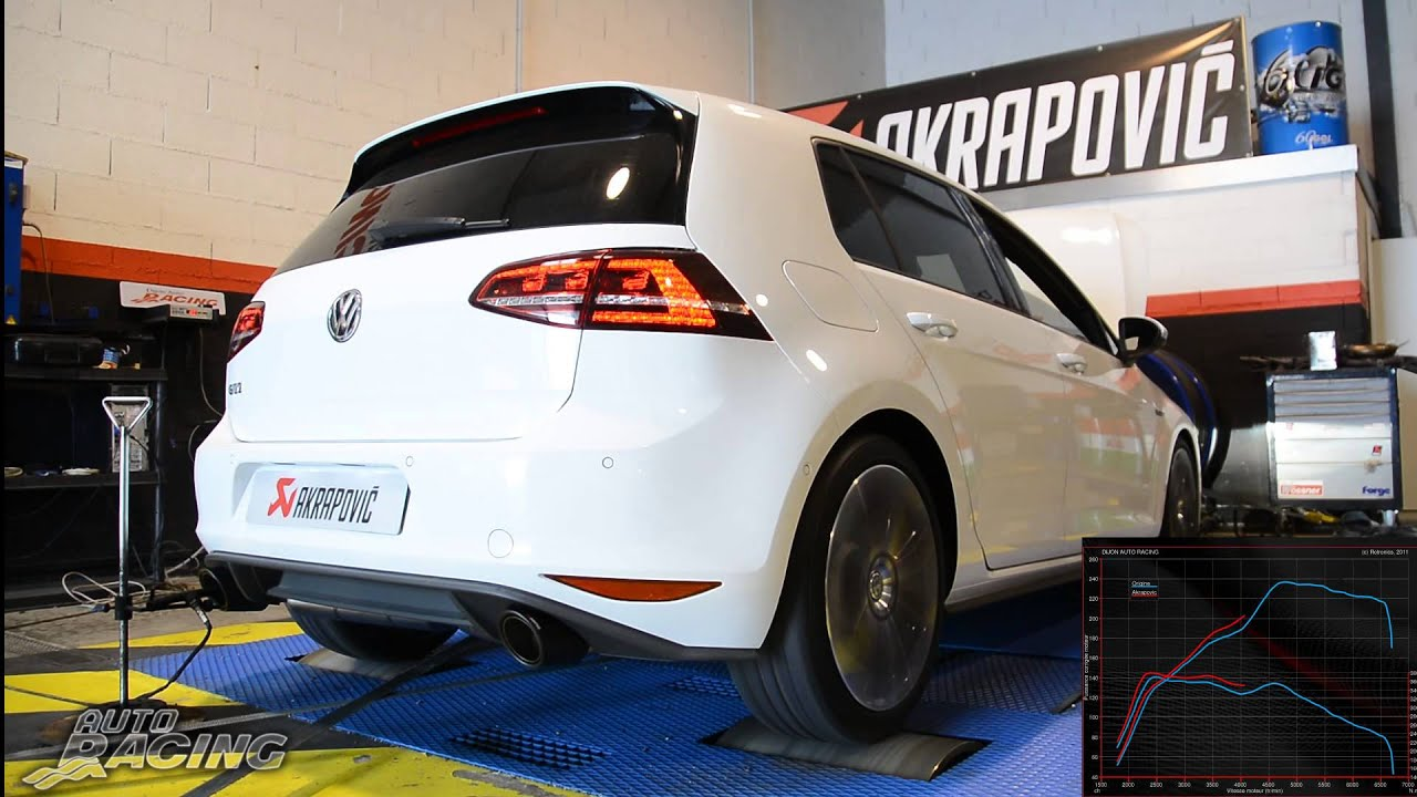 volkswagen golf mk7 gti akrapovic youtube. Black Bedroom Furniture Sets. Home Design Ideas