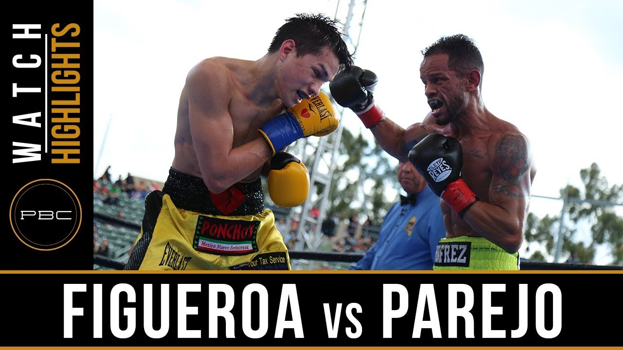 Figueroa vs Parejo HIGHLIGHTS: April 20, 2019 - PBC on FOX