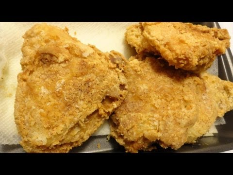 How to Make Fried Chicken - Hawaiian Style