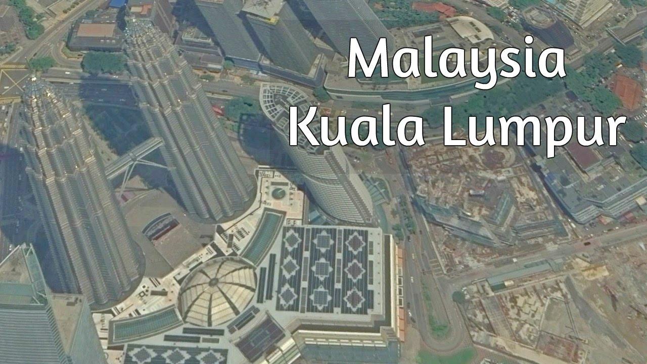 Kuala Lumpur, Malaysia - Google Map