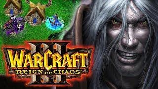 eXtra klasyka ⚔️ Warcraft III ⚔️ Kampania Nieumarłych - UPADEK QUEL'THALAS - Na żywo