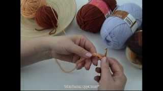 Видео-урок обучения вязанию крючком - 3.avi