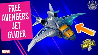 HOW TO GET Avengers Quinjet Glider FOR FREE IN FORTNITE! ENDGAME LTM CHALLENGES!