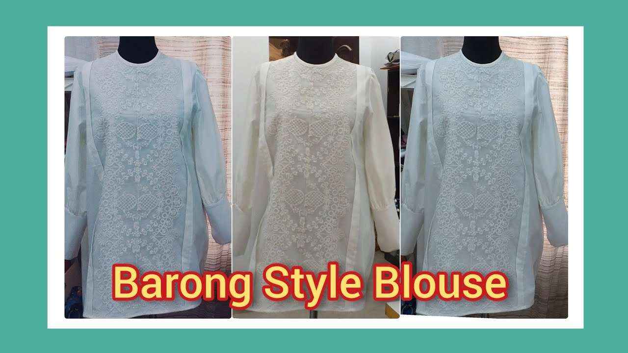 Barong  Style Blouse in Kuwait