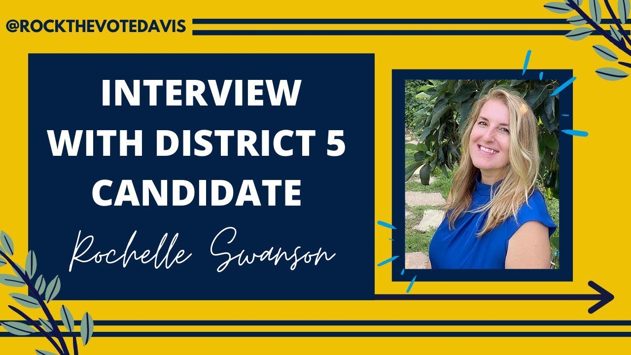 Rock the Vote Interviews: Rochelle Swanson