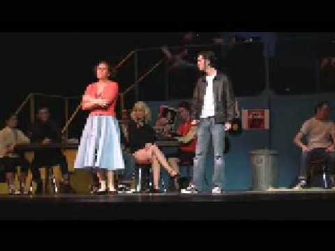 """""""Mooning"""" from Grease, BHS 2009"""