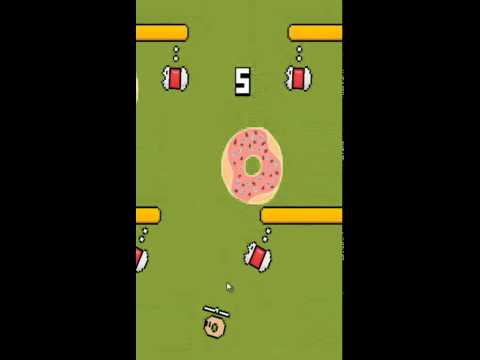 Flying Donut Android Game