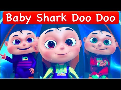 Baby Shark Song | Nursery Rhymes & Baby Songs | Animal Songs | Zool Babies Fun Songs | Shark Doo Doo