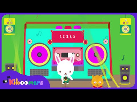12345 Once I Caught a Fish Alive | Nursery Rhymes | 1 2 3 4 5 | Counting |  The Kiboomers