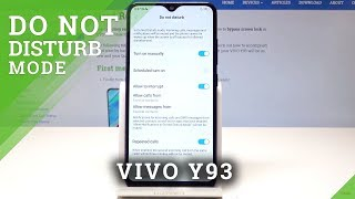 How to Enable Do Not Disturb Mode in VIVO Y93 - Mute Sounds & Vibrations