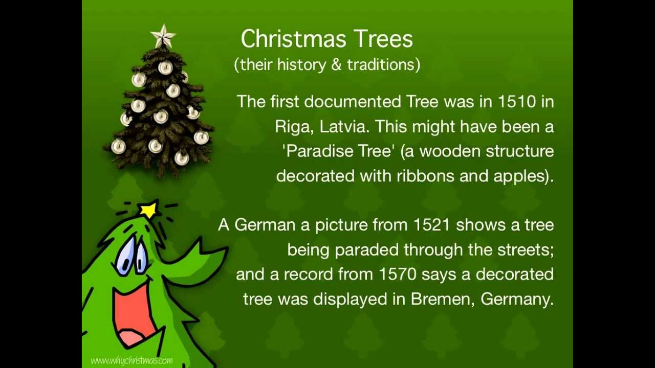 History Behind The Christmas Tree Part - 18: Christmas Traditions: Christmas Trees - Their History And Traditions